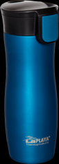 Termohrnek ONE HAND 0,38L, modrozelený