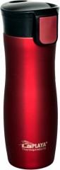 Termohrnek ONE HAND 0,38L, červený